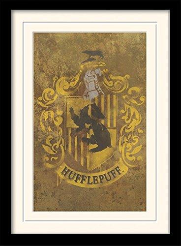 1art1-101711-harry-potter-hufflepuff-crest-gerahmtes-poster-fur-fans-und-sammler-40-x-30-cm