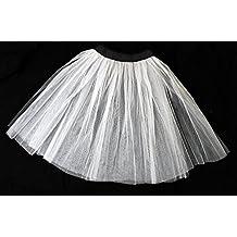 Long tutu noir pour femme en filet de tulle de 66 cm style Rock n fb1007655a26