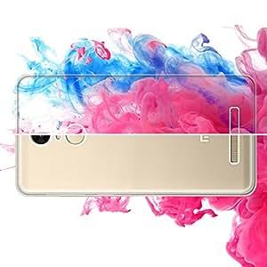 RedMi Note 3 Back Cover, RedMi Note 3 Cover, SGM® Slim Fit Premium Acrylic Clear Case, Hard Back Panel PC+TPU Bumper Case Cover for RedMi Note 3 + Microfiber Cloth