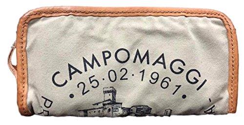 CAMPOMAGGI Geldbörse Canvas CP0132 / Beige+St.Nera
