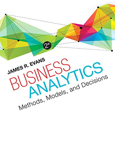 Download business analytics pdf free by james r evans fifa business analytics second edition teaches the fundamental concepts of the emerging field of fandeluxe Gallery