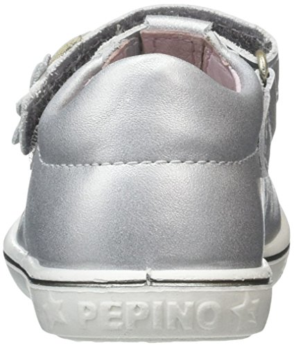Ricosta  Candy, Mary Jane fille Silver (Silber 414)