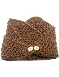 DOEUS Otoño Invierno Bufanda para Bebé Niños Niñas, Collar Bebé Algodón O Anillo Cuello Bufandas para Navidad acción de gracias año nuevo regalo para el niño 2-13 años