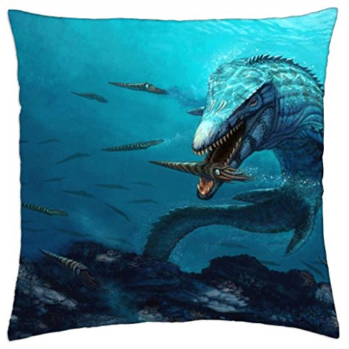 Mosasaur Reef  Throw Pillow Cover Case (18 Picture