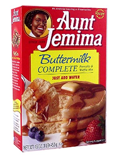 Moon Pie Aunt Jemima Buttermilk Complete Pancake and Waffle Mix, 2er Pack (2 x 453 g)