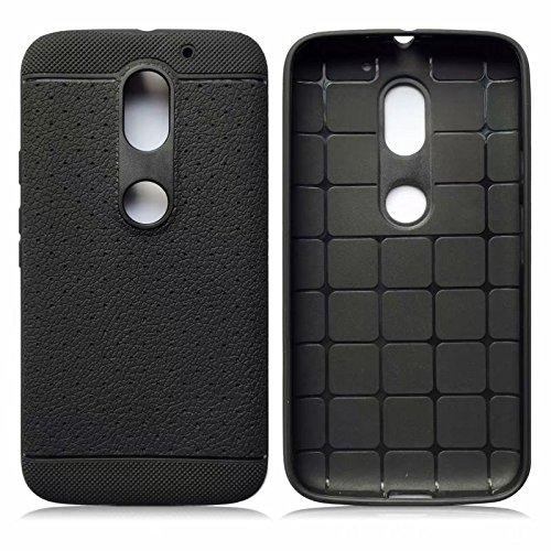 size 40 fdd14 b02d1 Parallel Universe Leather like Textured TPU Dotted Grip cover for Moto E3  Power (3rd Generation)