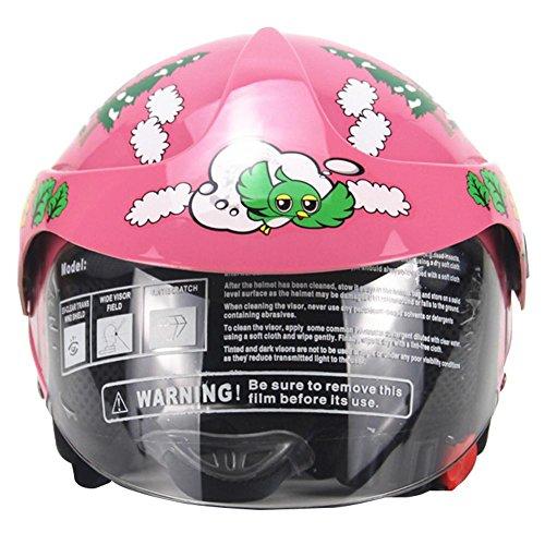 LiféUP Casco per Bambini Moto Harley Batteria Auto Uomo e Donna Bambino Casco Sicurezz