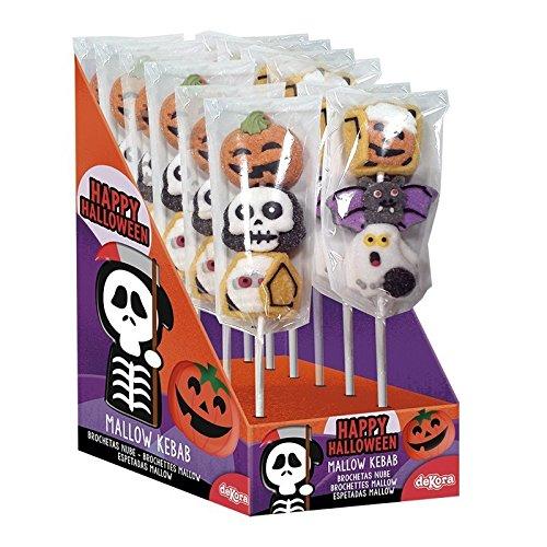 (Generique - Halloween Süßigkeiten-Spieß mit Marshmallow)