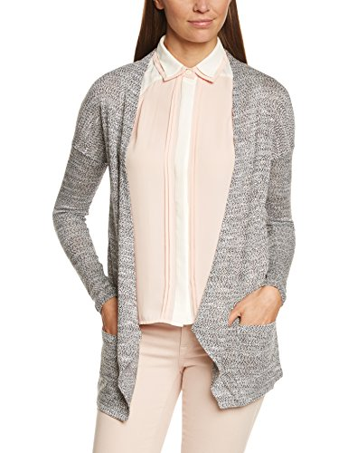 VILA CLOTHES - VIPAREL CARDIGAN, Maglione da donna, nero (Schwarz  (Black)), Large