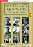 VARIETY ACTS AND TURNS OF THE MID 1930s [DVD]