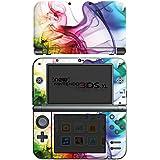 Nintendo New 3DS XL Case Skin Sticker aus Vinyl-Folie Aufkleber Farben Bunt Nebel