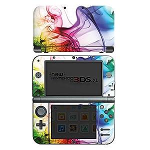 DeinDesign Nintendo New 3DS XL Case Skin Sticker aus Vinyl-Folie Aufkleber Farben Bunt Nebel