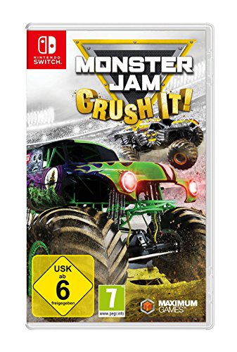Monster Jam: Crush It! [Nintendo Switch - Monster Spiele Jam
