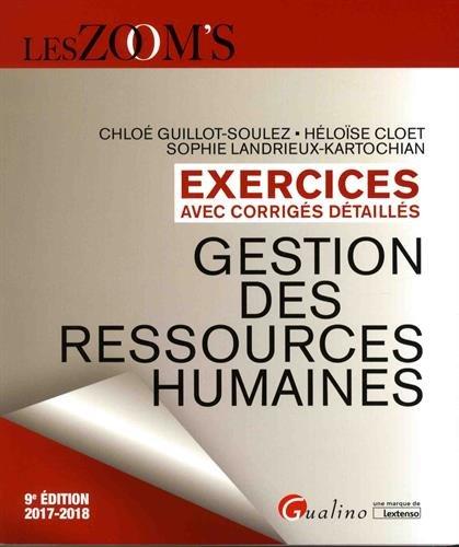 Gestion des ressources humaines : Exercices avec corrigés détaillés
