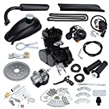Ridgeyard 50ccm 2-Takt Gas Motor Fahrrad Fahrrad Motor Kit motorisierte Kit DIY schwarzen schwarzen Motor