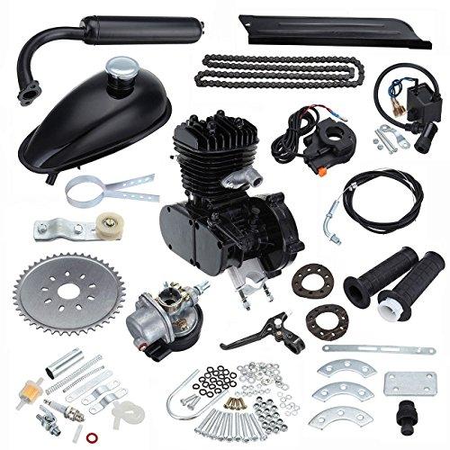 MountainNet Moto Kit Motore Motorizzato Bicicletta motore kit FAI DA TE 50cc Gas 2 Tempi N