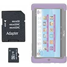 DURAGADGET Tarjeta de memoria para Cefatronic - Tablet Clan Motion Pro micro SD HC 16 GB + adaptador