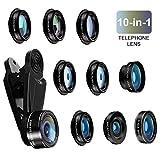 Best Smartphone Camera Lenses - Bamoer Cell Phone Camera Lens, 10 in 1 Review