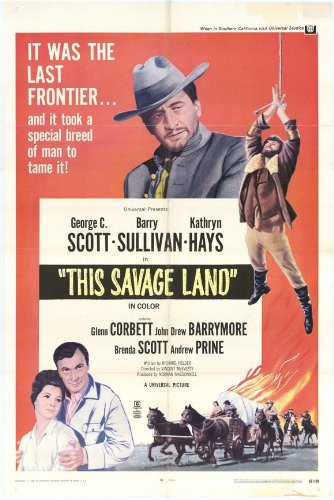 Questo Savage Land poster Movie 11 x 17 pollici - 28 cm x 44 cm Barry Sullivan Brenda Scott Andrew Prine Kelly Corcoran Katherine Squire