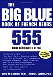 The Big Blue Book of French Verbs: 555 Fully Conjugated Verbs (Big Book of Verbs Series)