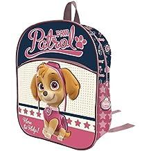 Mochila 3D Patrulla Canina Paw Patrol girl cremallera frontal 32cm