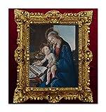 MADE IN ITALY Quadro L'angelo della Sixtina Sixtinische Madonna Raffael, 45 x 38 cm