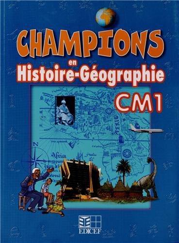 Champions en histoire-géographie CM1 Cameroun: ELEVE CAMEROUN