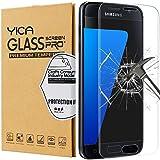 Samsung Galaxy S7 Panzerglas Glasfolie Schutzfolie ,Yica [Anti-Kratzen] Hartglas Display Folie Full Coverage Screen Protector Schutzglas für Samsung Galaxy S7