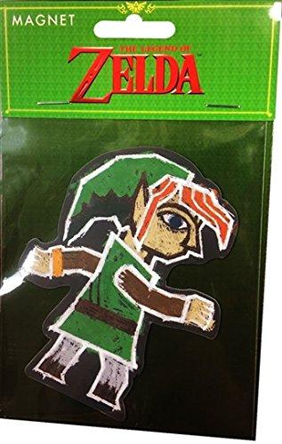 Nintendo Offizielles Legend of Zelda Classic Link Kühlschrank Magnet (Legend Of Zelda Triforce Helden Kostüme)