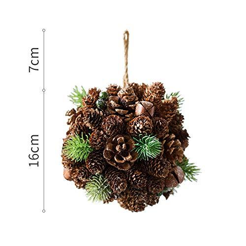 ZHIHUIflower Ghirlanda di Alberi di Natale con Ghirlanda Naturale Art Decoration Festival Fatto a Mano