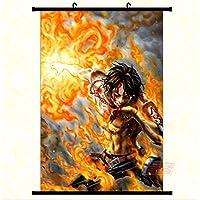 One Piece D.Ace in 2 jahren Anime Manga Wallscroll Stoffposter 60x90cm Neu