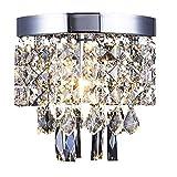 Plafond Cristal Éclairage AFSEMOS, Lustres en Cristal, Abat-Jours E14 Plafonniers...