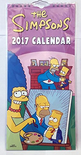 the-simpsons-2017-slim-calendar