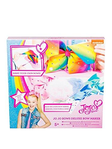 (JoJo Bögen Und Pom Pom Schlüsselanhänger Maker - Deluxe Siwa Bögen Maker Perfektes Geschenk)