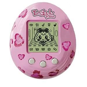 Bandai 37485 - Tamagotchi Digital Friend, pinke Herzen