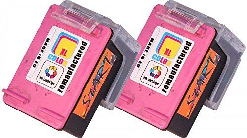 Preisvergleich Produktbild 2 Ersatz Tintenpatronen kompatibel zu HP 302XL Farbe