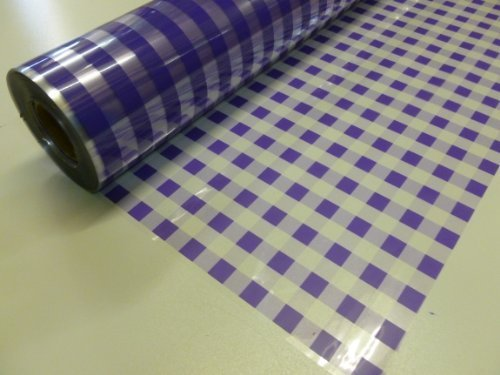 10m-x-80cm-roll-purple-chex-cellophane-wrap-florist-quality-bouquet-gift-hamper-basket-wrapping