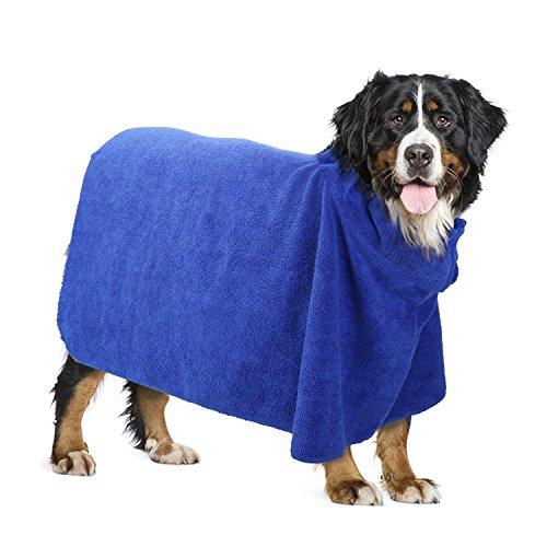 Pawaboo Toalla para Perros, Albornoz para Mascotas, Albornoz de Microfibra de Calidad...