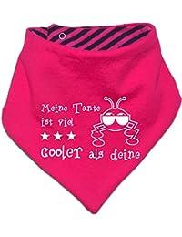 mitwachsendes Baby - und Kinder Wende - Halstuch Meine Tante ist cooler als deine / in 7 Designs / Größen 0-36 Monate