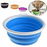 Wasserflasche Hund Tragbarer, Hund Trinkflasche - Die intelligente Art und Weise zu halten Ihren Hund hydratisiert auf dem Sprung - PRIAMS 7 ((21.5 x10.7 x10.7)cm/(8.46x 4.21x 4.21)