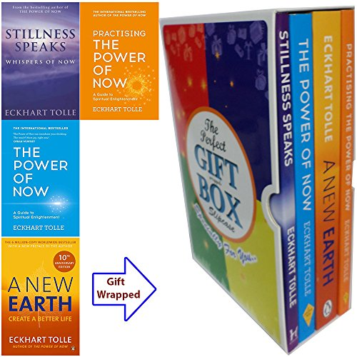 [PDF] Téléchargement gratuit Livres Eckhart Tolle Power of Now Collection 4 Books Bundle Gift Wrapped Slipcase Specially For You