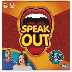 Hasbro juego de mesa Speak Out (idioma español no garantizado)