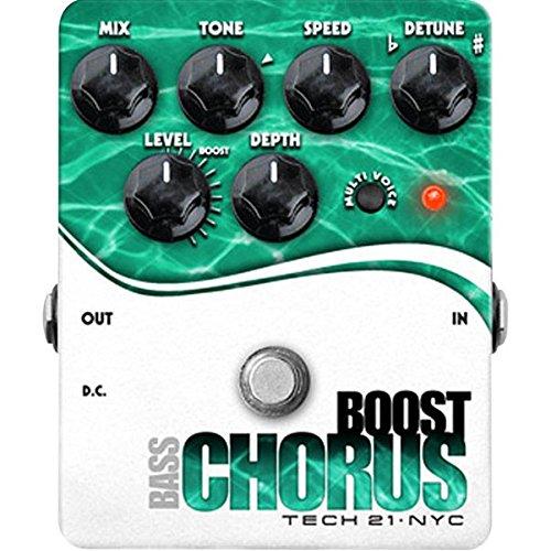 Tech 21 Boost Chorus Bass Pedal