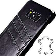 Galaxy S8 Plus Case by Cuvr | 100% Leather Card Wallet Cover for Samsung