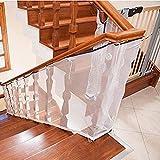 TINGSU Treppenschutznetz Kleines Gitter Schutz Installation Balkon Baby Sicheres Tor