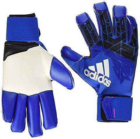 adidas Erwachsene Ace Trans Fingertip Torwarthandschuhe, Blue/Core Black/White/Shock Pink, 8