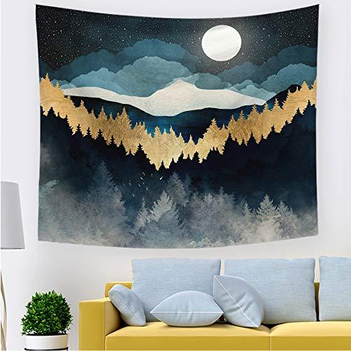 mmzki Sonnenuntergang Landschaft Tapisserie hängen Tuch Wandbehang nach Hause Schildkröte Tapisserien Hintergrund Wandmalerei 211636 150 * 130cm
