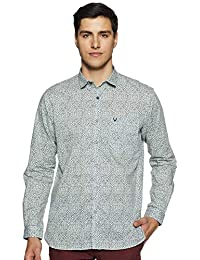 Allen Solly Men's Printed Regular fit Casual Shirt