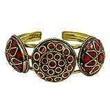Banithani erstaunlich Messing Manschette verstellbare Armband Mode-Schmuck-Geschenk für Sie