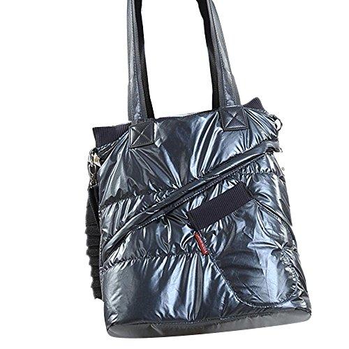 Transer  Artificial leather Handbags & Single Shoulder Bags Women Zipper Bag Girls Hand Bag, Damen Schultertasche Mehrfarbig gold 37cm(L)*38(H)*11cm(W), schwarz (Schwarz) - YLL60913523 schwarz